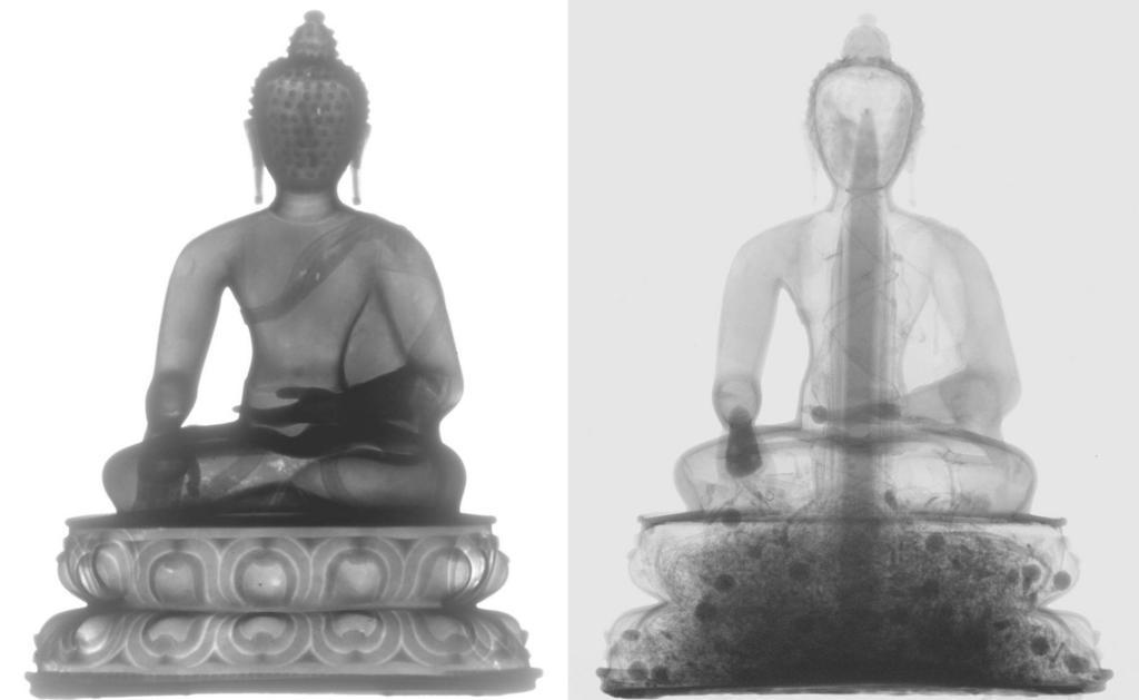 tron radiography - 2 Buddhas
