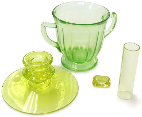 Vaseline glass