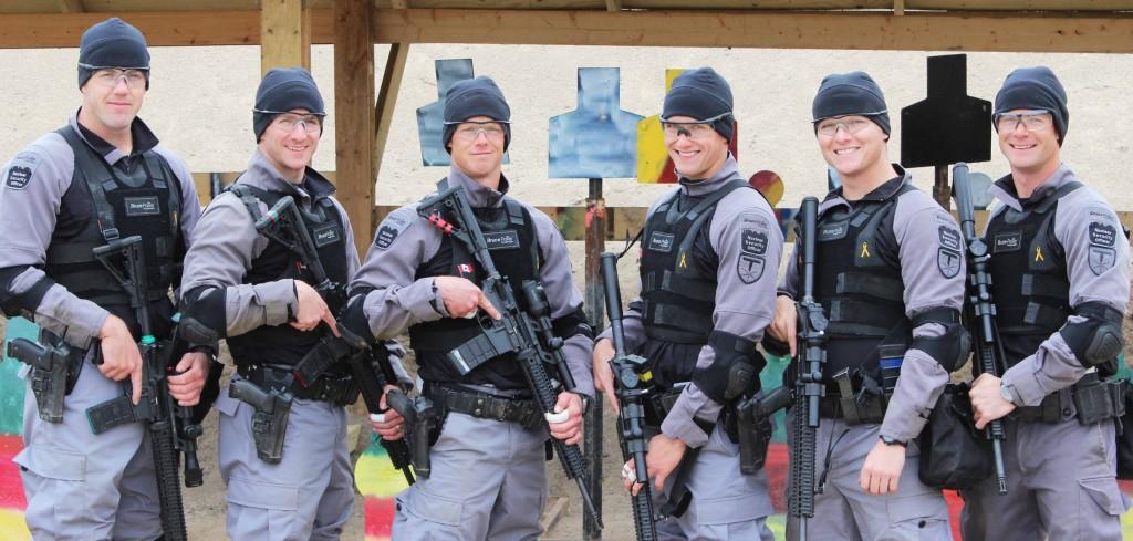 image of Bruce Power's award winning response team