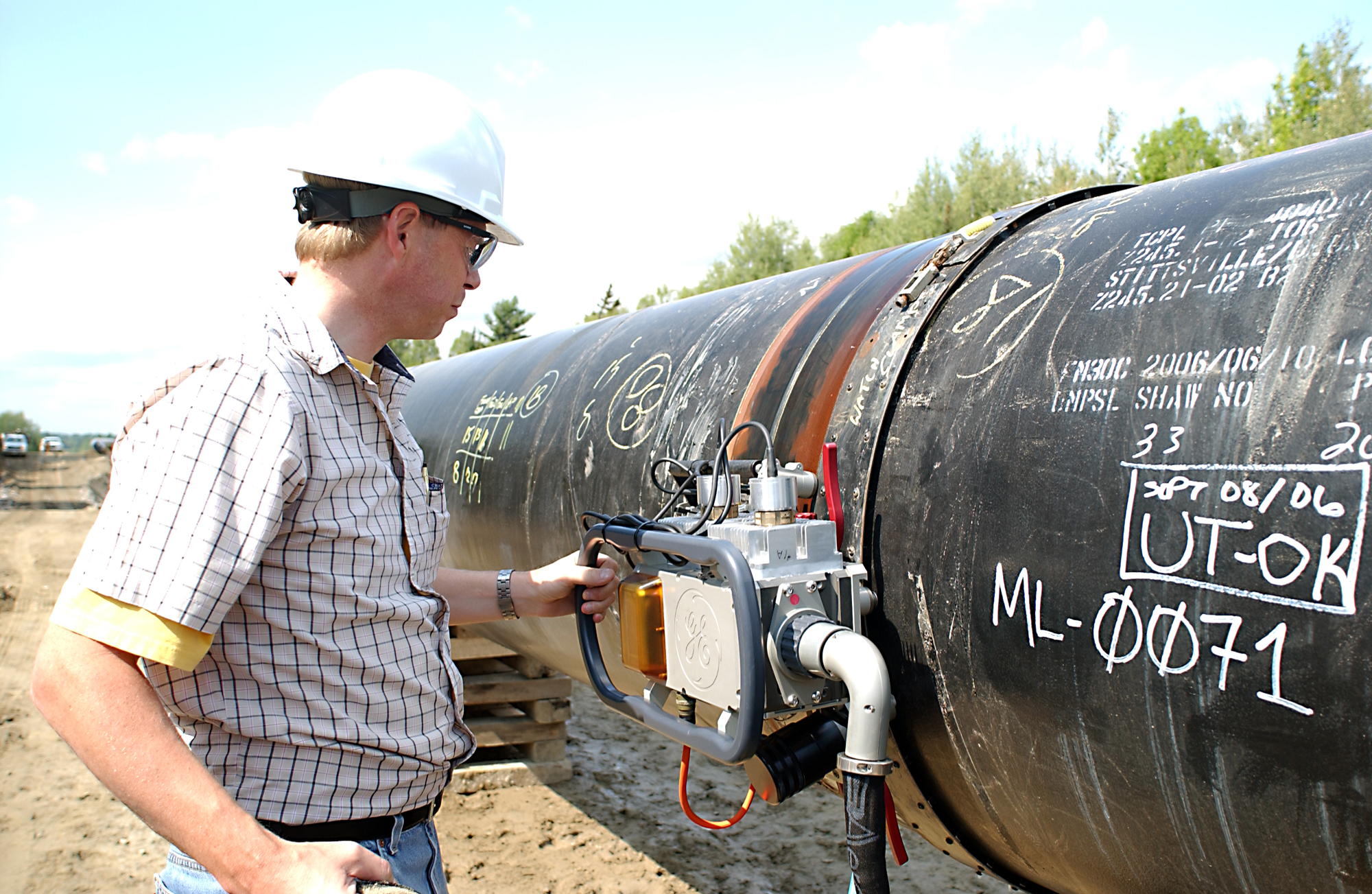 NDT pipeline inspection