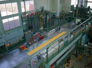 The NRU reactor