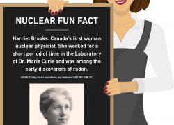 Fun fact girl - Harriet Brooks