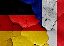 France and German flag